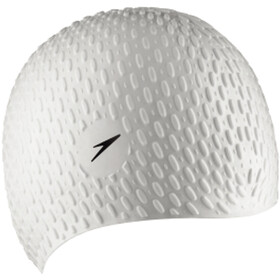 speedo Bubble Cap white